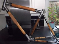 titanium bike frame with bamboo titanium road bike frame bamboo tube bamboo bike frame