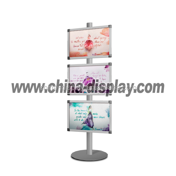 Outdoor A1 Water Base Poster Stand a4 light frame with stand off