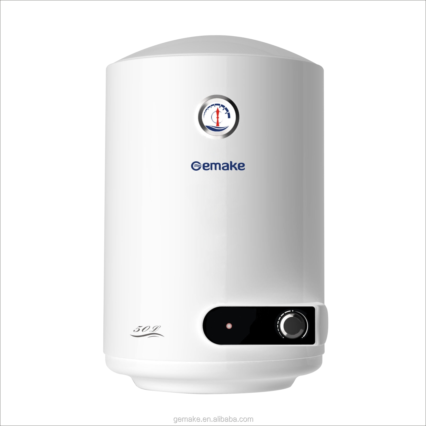 Storage water heater enamel tank