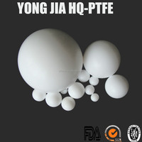 Diameter 7mm Teflon Bearing Ball in White Color