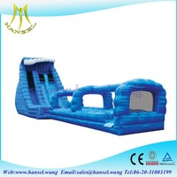 Hansel GuangZhou Good Quality Double Lanes Inflatable Slide Water Bouncers air slides toys
