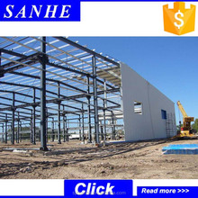 modular warehouse building sandwich panel roofing steel structure building