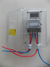 BGKJ-400V latin america type Plastic transparent meter box