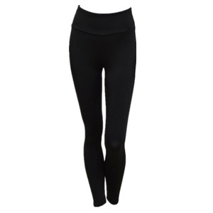 Basic Seamless Leggings Plain Stretch Yoga Pants