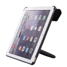 Folding Smart Cover Leather Case for iPad air 2 - Multi-Functional Grip, Stand & Carrying Case with Protective Front Cover