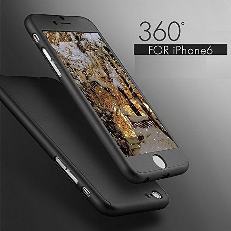 For Apple iPhone 7 Case Armor Hybrid Silicon PC Back Cover Stand Holder 360 Degree Rotation Phone Cases For Apple iPhone 7