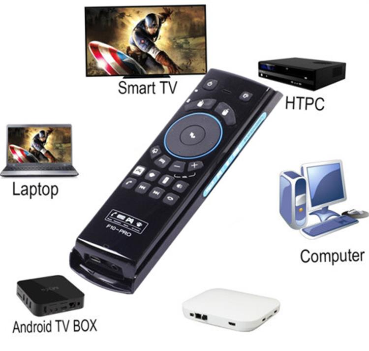 Distinctive f10 pro 2.4GHz Wireless Remote Control and keyboard Mele f10 air mouse remote