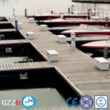 durable aluminium floating wharf