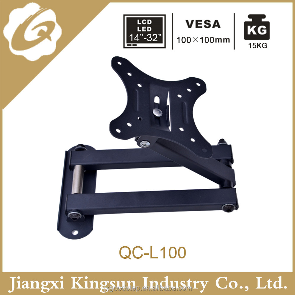 MOVABLE TV WALL MOUNTING BRACKET Extendable STAND for 14-37 inch <strong>L100</strong>
