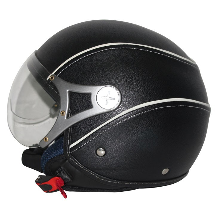 2015 Fashion designed half face helmet with classical graphic (ECE&DOTcertification)