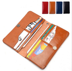 2016 hot sale genuine leather genuine cow leather wallet case