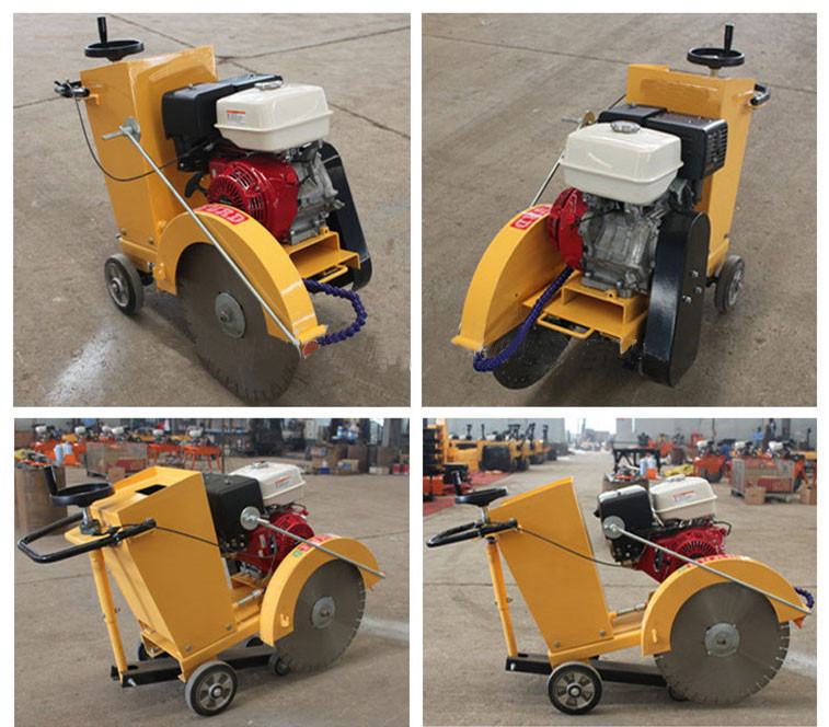 Depth Adjustment road cutter reinforced concrete/asphalt cutting machine