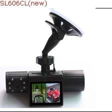 "NEW 2.0""INCH DUAL CAMERA car camera recorder"
