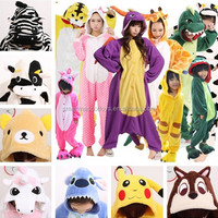 Wholesale adult thermal animal onesie pajama adult thermal animal onesie adult thermal onesie