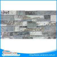 Sand Stone Decorative Ceramic Exterior Wall Tile 30X60 Size