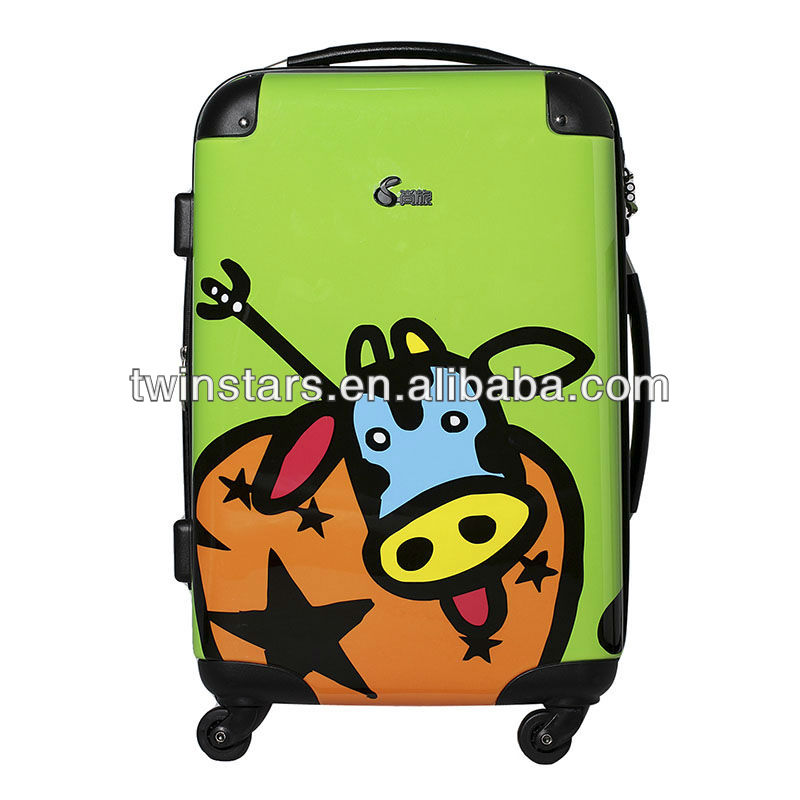 Best PC fashion colorful luggage sets