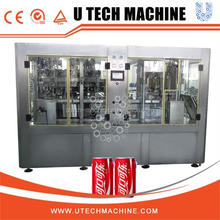 Red bull po-top filling machine Turnkey beverage plants / automatic aluminum carbonated beverage can making machine