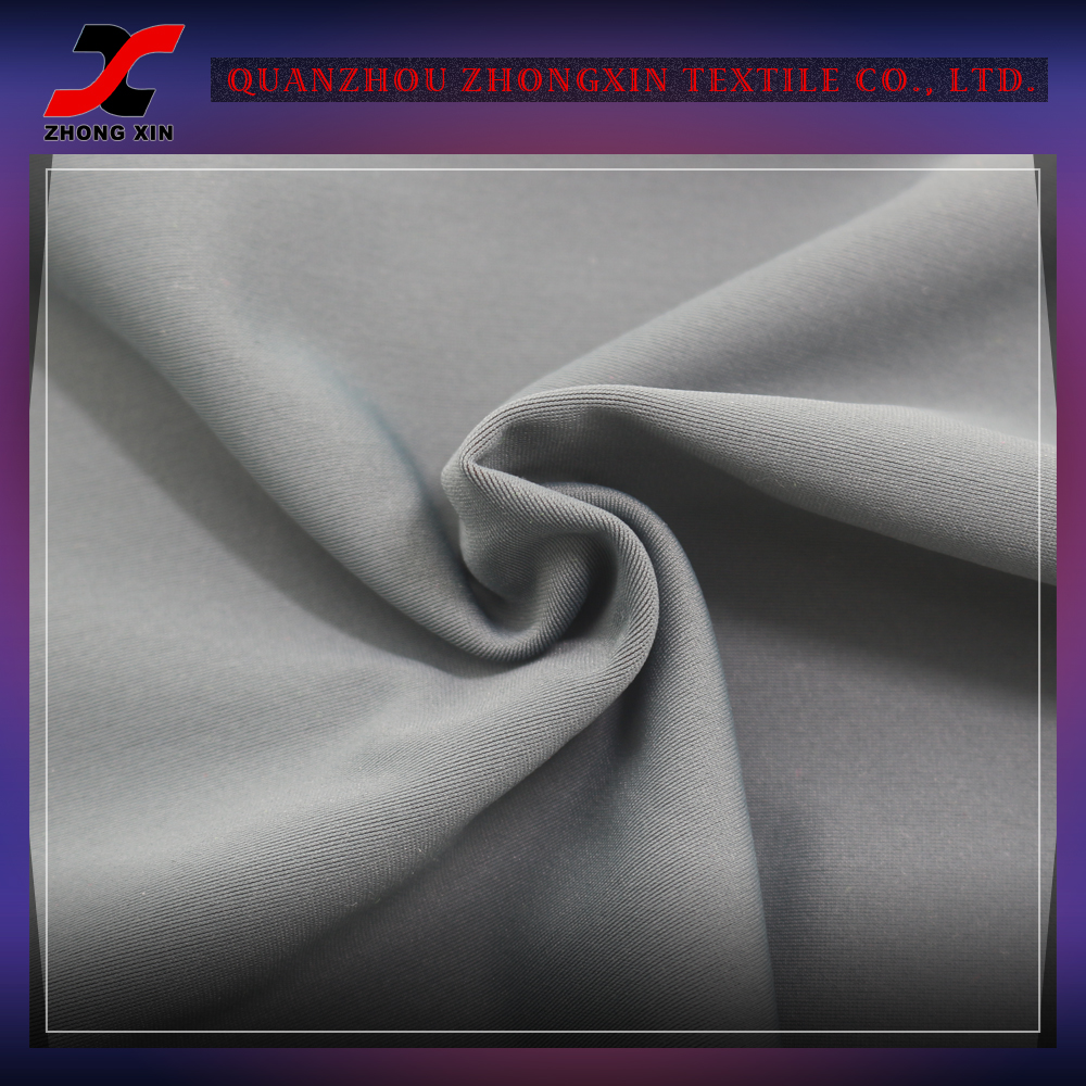 cotton feel abrasion resistant polyester spandex uniform sportswear fabric