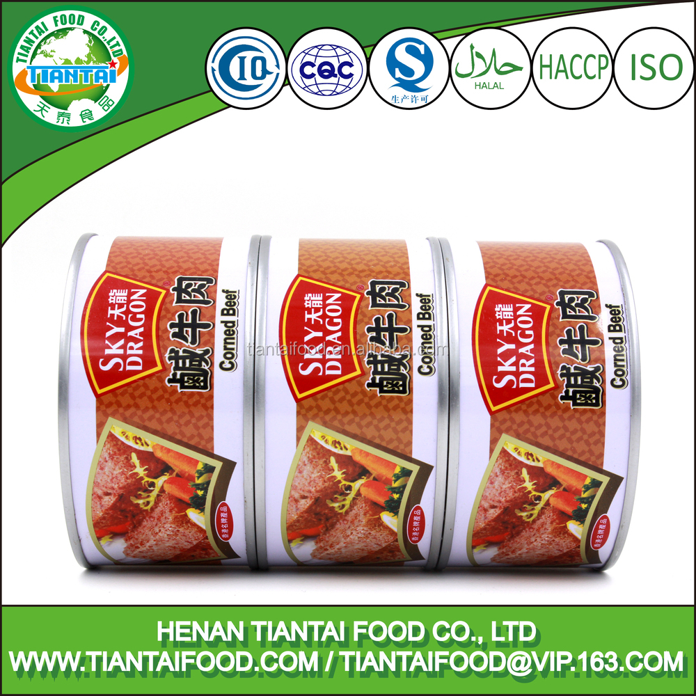 340g Canned Corned Beef Meat Wholesale Halal Beef Meat