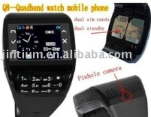 Quadband dual sim dual standby full touch screen + pinhole webcam + keypad --- Q8