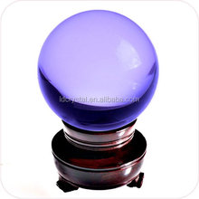 crystal ball elegant beautiful decorative crystal ball with wooden base