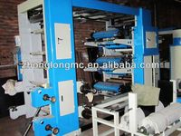 6 colors flexography printing machine for plastic film, paper, foil printing