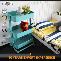Wholesale Home Kitchen Cart 3 Tier Metal Trolley