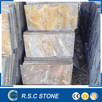 Good price natural yellow stone slate wholesale