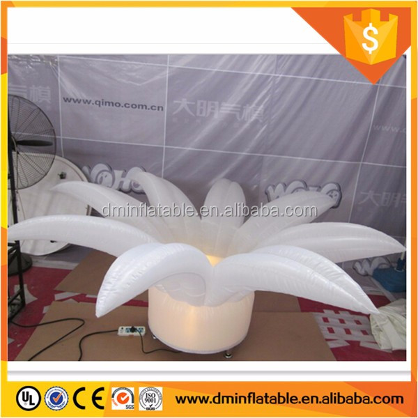 sweet lighted inflatable flower wedding decoration /inflatable flower wedding for sale
