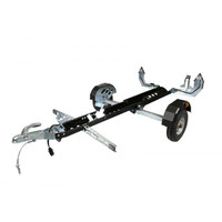 Single Rail Small Utility Pull Behind Collapsible Atv Motorcycle Camping Trailer for sales