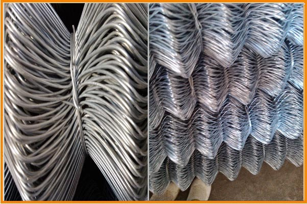 China alibaba manufacturer wire mesh fence chain link mesh temporary fence