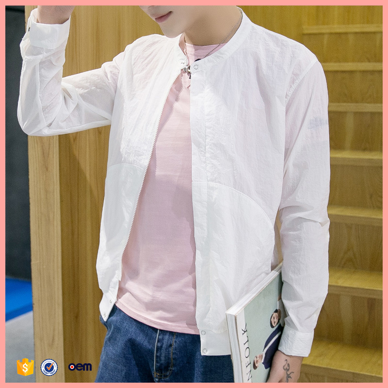 2016 Summer new Korean version of casual men's tide thin sun protection clothing sunscreen clothing jacket