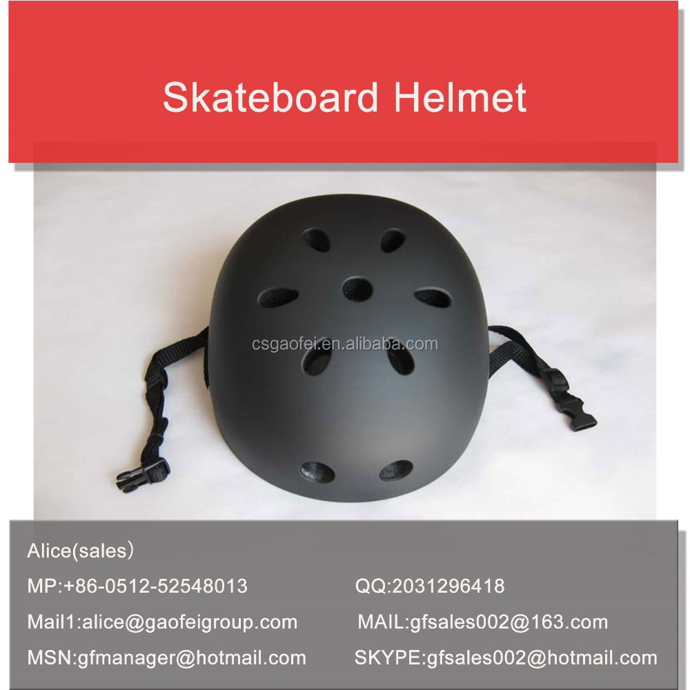Eco friendly sporting safety novelty BMX skating skateboard helmet