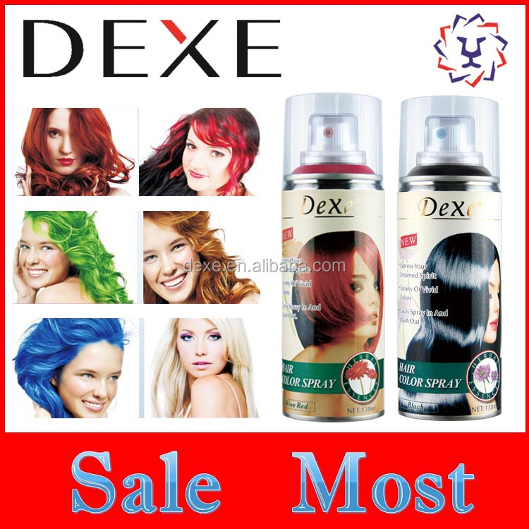 Best Quality Hair Dye Washable Hair Color Spray Chinese Factory