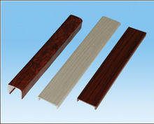 Pvc Strip u-shape Edge Banding/Plastic Table Edging Trim
