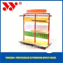 Dongguan High-end display rack!!paper floor dump bin cardboard t-shirt display rac