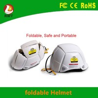 Top quality raw material carbon fiber open face folding helmet safety