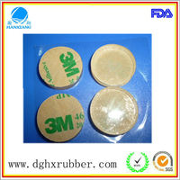 round rubber self adhesive pads/ adhesive anti-vibration rubber cork pad/Battery operated heating pad