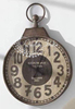 Antique Style Metallic Hanging Wall Clock
