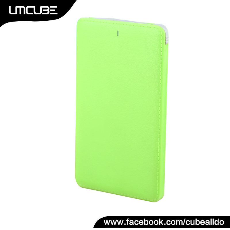 OEM Factory - Portable Charger, 5000mAh Ultra Thin Power Bank Fast Charging, External Mobile Battery Charger