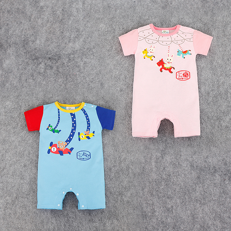 Innovative Products 2017 Newborn Baby Boy Clothes Custom Print Made Kids Rompers