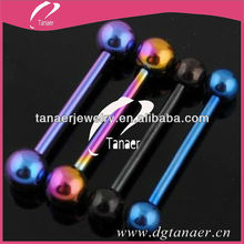 cool stainless steel tongue piercing jewelry