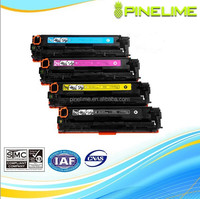 CE410A, Compatible Color laser toner cartridge For hp CE410A CE411A CE412A CE413A