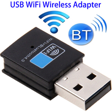 150Mbps 2.4GHz 2 in 1 Bluetooth 4.0 USB WiFi Wireless Adapter