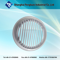 Aluminum round weather louver for ventilation outdoor air louver