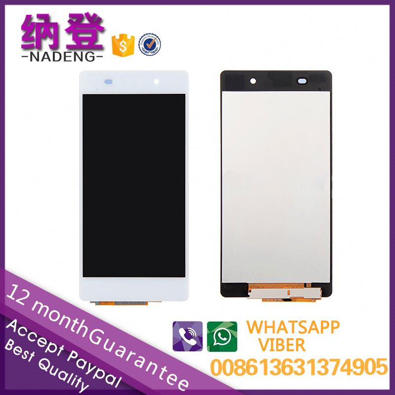 Best quality lcd for Sony xperia Z2 lcd D6503 screen display one year warranty with original color