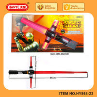 86 cm length Led Flashing laser Sword toy with laser light and sound