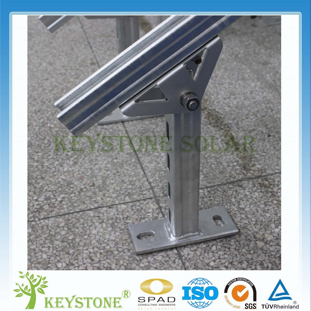 Hight quality ground brackets for Solar PV system