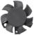 UL CE 120x120x25mm 1225 brushless dc 12025 cooling fan impeller