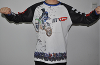 custom sublimation printing motocross jersey